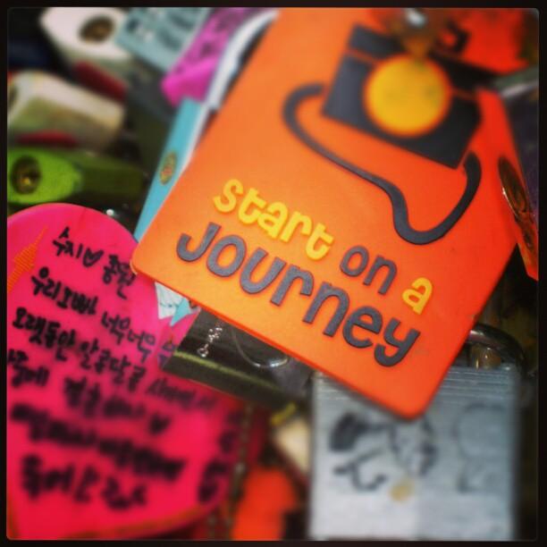 Start on a journey