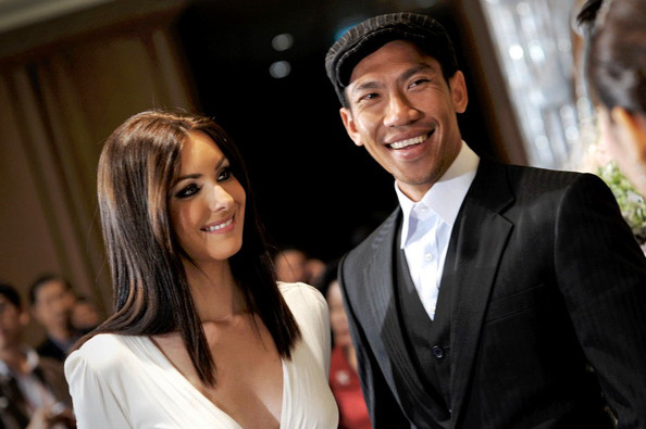 Paradorn and Natalie.....like most celebrity couples they are now divorced!