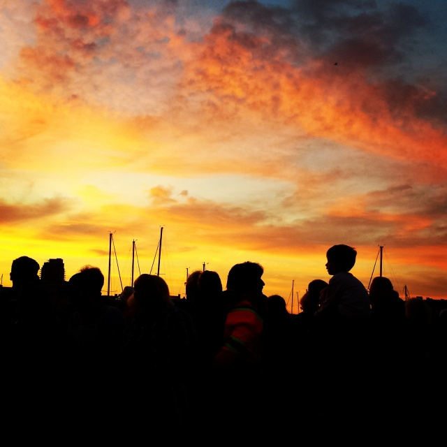 Symphony Splash Sunset 1