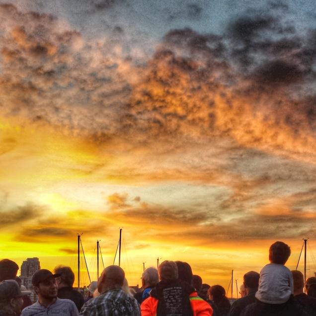 Symphony Splash Sunset 2