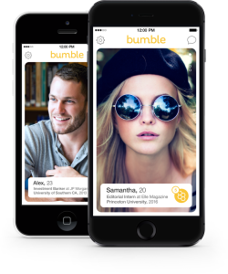 Bumble - Ladies make the first move!